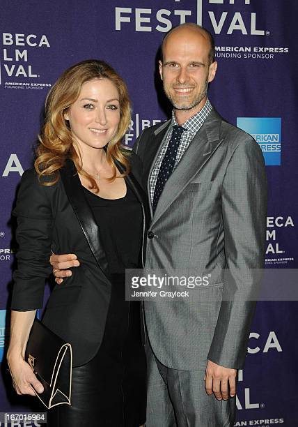 Director Edoardo Ponti and wife Sasha Alexander attends the 'Night Shift Belongs To The Stars' Screening Shorts Program 2013 Tribeca Film Festival...