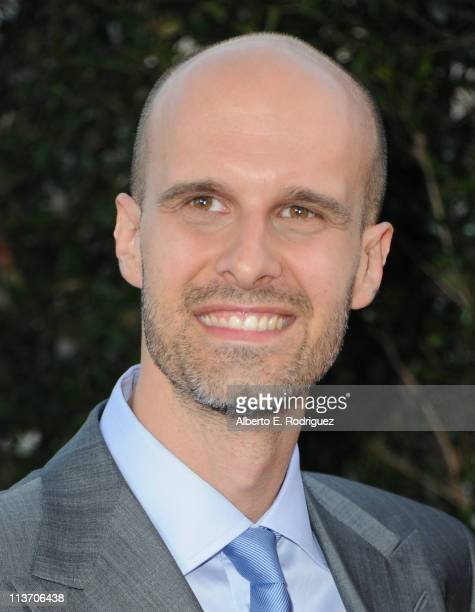 Director Eduardo Ponti arrives to The Academy of Motion Picture Arts and Sciences' tribute to Sophia Loren on May 4 2011 in Beverly Hills California