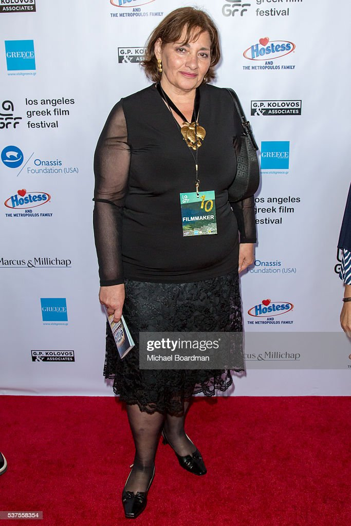 Director Effrosyni Koutsouti attends the 10th Annual Los Angeles Greek Film Festival opening night gala at the Egyptian Theatre on June 01, 2016 in Hollywood, California.