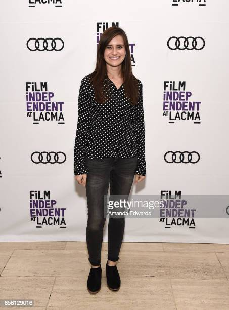 Director Elaine McMillion Sheldon attends the Film Independent at LACMA special screenings of 'Heroin' and 'Long Shot' at the Bing Theater at LACMA...