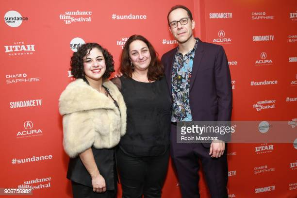 Director Elan Bogarin Executive Producer Caroline Libresco and Director Jonathan Bogarin attends the '306 Hollywood' Premiere during the 2018...