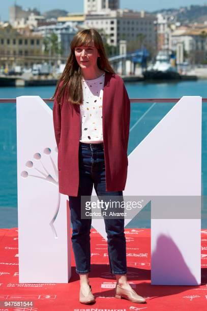 Director Elena Trape attends 'Las Distancias' photocall during the 21th Malaga Film Festival on April 17 2018 in Malaga Spain