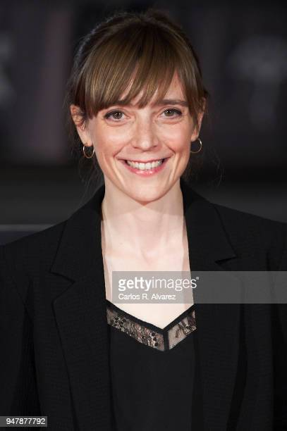 Director Elena Trape attends 'Las Distancias' premiere during the 21th Malaga Film Festival at the Cervantes Theater on April 17 2018 in Malaga Spain