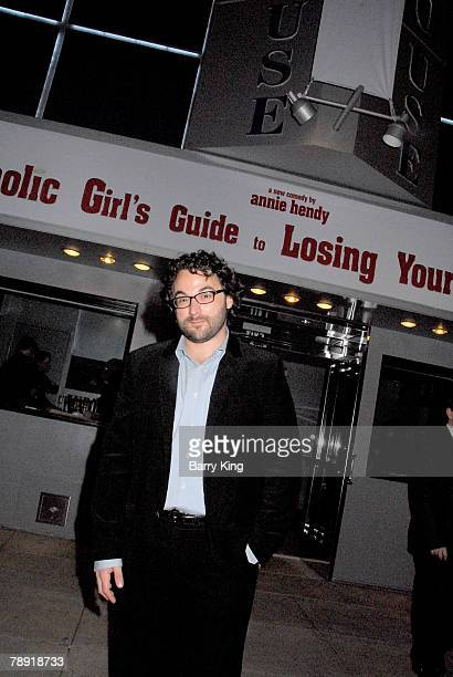 LOS ANGELES CA JANUARY 11 Director Eli Gonda attends Venice Magazine's after party for The Catholic Girl's Guide to Losing Your Virginity opening...