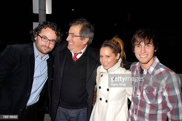 Director Eli Gonda director Kenny Ortega actress Ashley Tisdale and actor Jared Murillo attend Venice Magazine's after party for The Catholic Girl's...