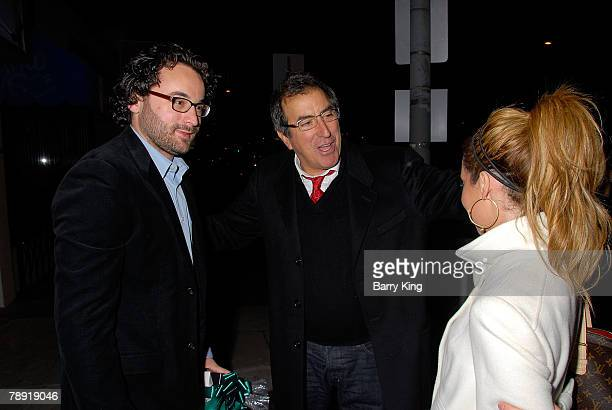 LOS ANGELES CA JANUARY 11 Director Eli Gonda director Kenny Ortega and actress Ashley Tisdale attend Venice Magazine's after party for The Catholic...