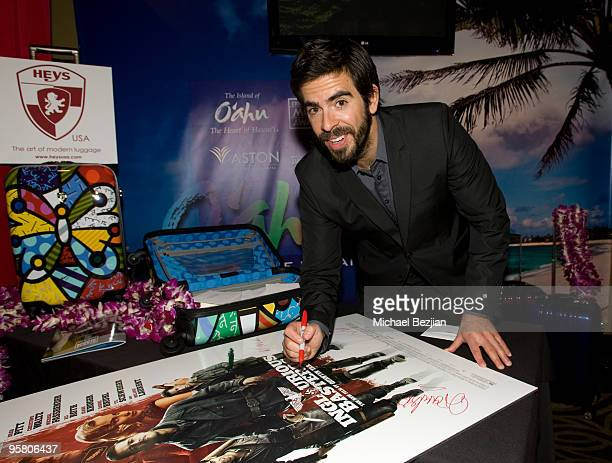 Director Eli Roth attends the BFCA Critics' Choice Movie Awards at Hollywood Palladium on January 15 2010 in Hollywood California
