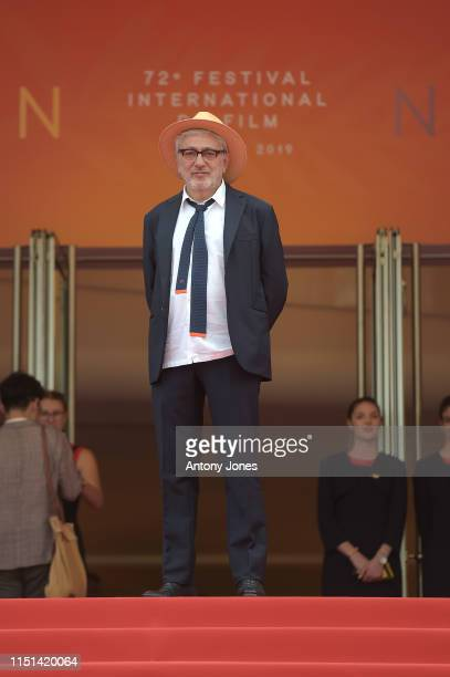 Director Elia Suleiman attends the screening of It Must Be Heaven during the 72nd annual Cannes Film Festival on May 24 2019 in Cannes France