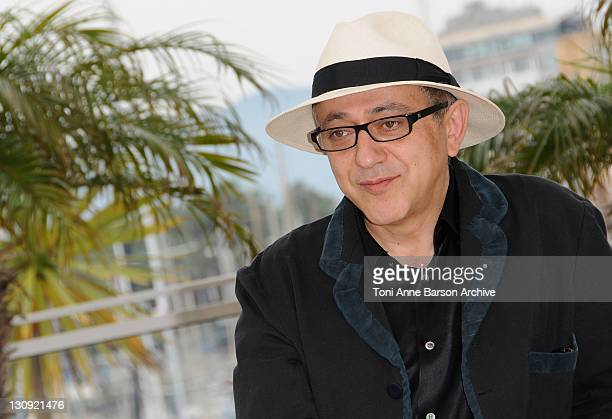 Director Elia Suleiman attends the The Time That Remains Photo Call at the Palais des Festivals during the 62nd Annual Cannes Film Festival on May 22...