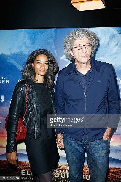 Director Elie Chouraqui and his wife Isabel Sulpicy attend 'L'Origine De La Violence' Paris Premiere at Cinema Le Balzac on May 3 2016 in Paris France