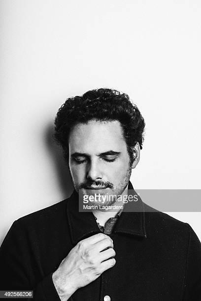 Director Elie Wajeman is photographed for Self Assignment on October 5 2015 in Saint Jean de Luz France