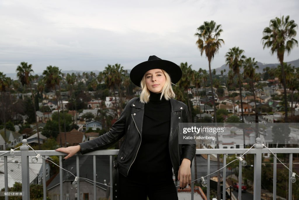 Director Eliza McNitt is photographed for Los Angeles Times on January 8, 2018 in Los Angeles, California. PUBLISHED IMAGE.