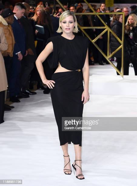 Director Elizabeth Banks attends the Charlies Angels UK Premiere at The Curzon Mayfair on November 20 2019 in London England