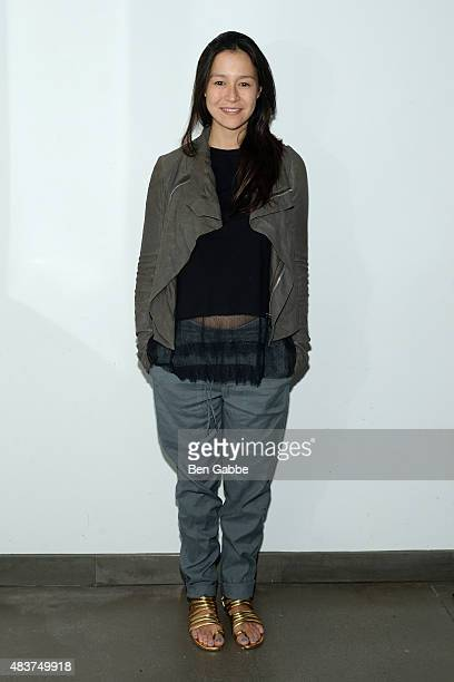 Director Elizabeth Chai Vasarhelyi attends the 2015 Film Society Of Lincoln Center Summer Talks with Meru at Elinor Bunin Munroe Film Center on...