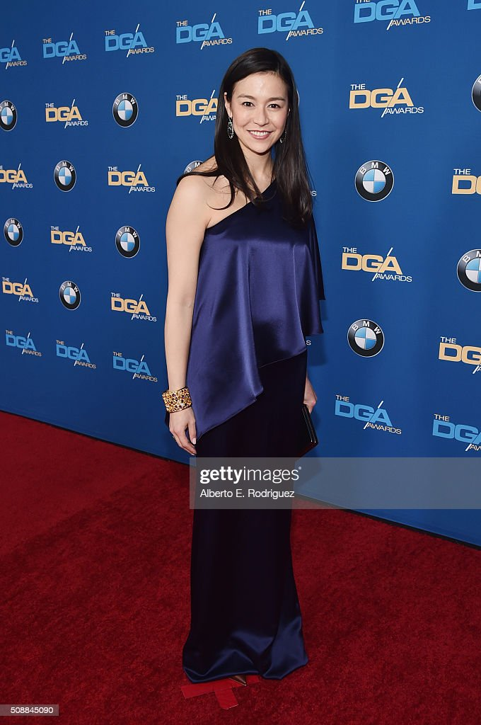 Director Elizabeth Chai Vasarhelyi attends the 68th Annual Directors Guild Of America Awards at the Hyatt Regency Century Plaza on February 6, 2016 in Los Angeles, California.
