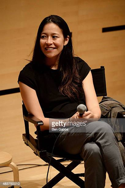 "Director Elizabeth Chai Vasarhelyi speaks at the 2015 Film Society Of Lincoln Center Summer Talks with ""Meru"" at Elinor Bunin Munroe Film Center on..."