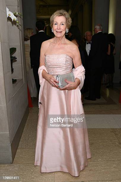 Director Emerita Anne L Poulet attends the 2011 Frick Collection Autumn Dinner Honoring Anne L Poulet at The Frick Collection on October 17 2011 in...