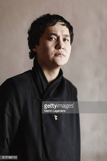 Director Emir Baigazin is photographed for Self Assignment on February 18 2016 in Berlin Germany