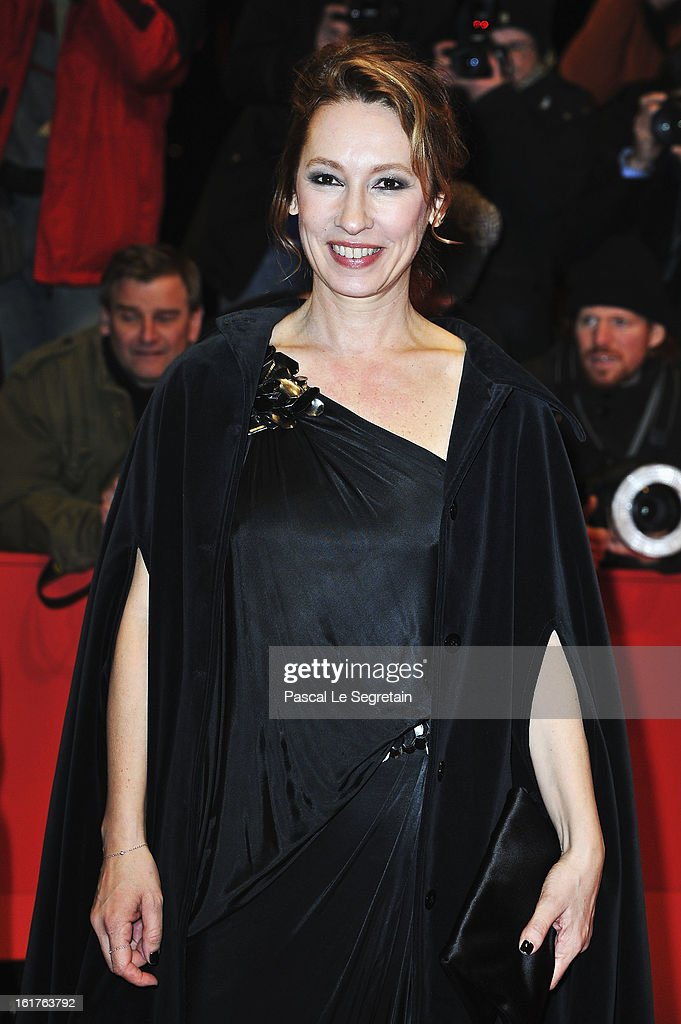 Director Emmanuelle Bercot attends the 'On My Way' Premiere during the 63rd Berlinale International Film Festival at Berlinale Palast on February 15, 2013 in Berlin, Germany.