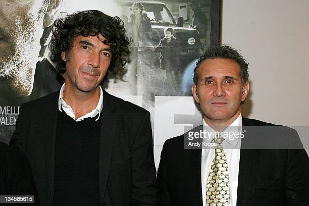 Director Eric Lavaine and producer Patrick Gimenez attends the premiere of ''RIF'' during the 2011 In French with English Subtitles film festival...