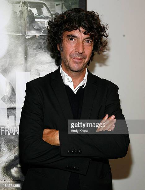 Director Eric Lavaine attends the RIF premiere during the 2011 In French with English Subtitles film festival opening gala at the Florence Gould Hall...