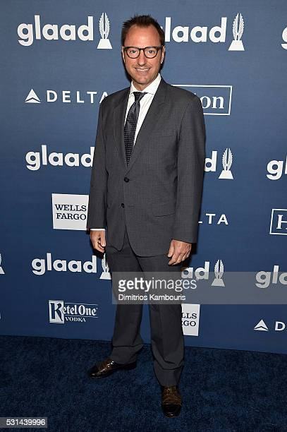 Director Eric Schaeffer attends the 27th Annual GLAAD Media Awards in New York on May 14 2016 in New York City