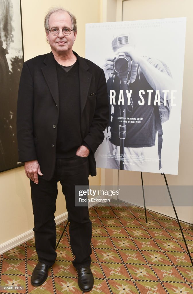 Director Erik Nelson poses for portrait at the 'A Gray State' Los Angeles special screening and Q+A at Raleigh Studios on November 14, 2017 in Los Angeles, California.