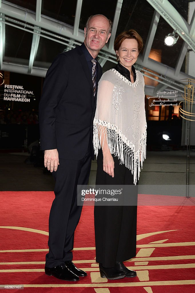 Director Erik Poppe and guest attend the 'Like Father, Like Son' premiere during the 13th Marrakech International Film Festival on December 1, 2013 in Marrakech, Morocco.