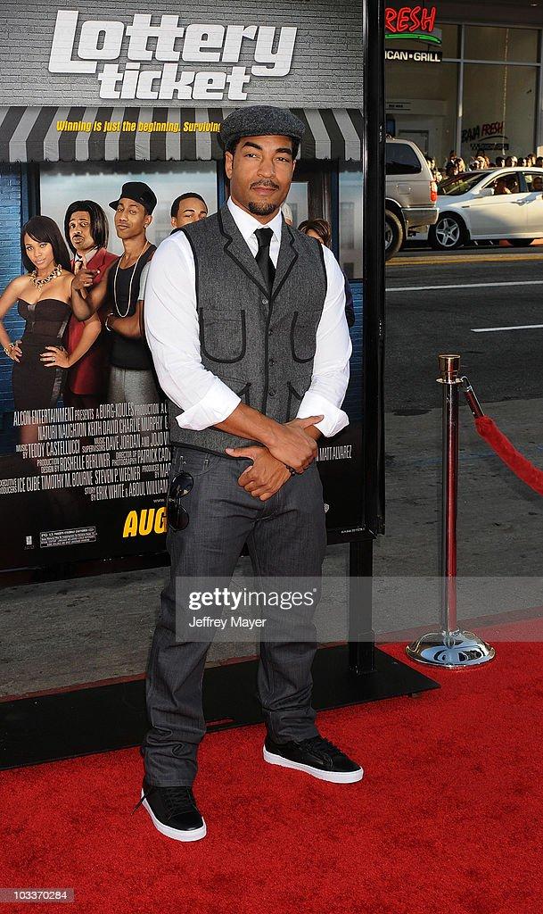 Lottery Ticket Los Angeles Premiere Arrivals Director Erik White