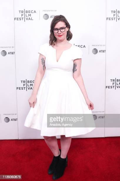 Director Erin Lee Carr attends the At The Heart Of Gold Inside the USA Olympics Scandal documentary film screening at the 2019 Tribeca Film Festival...