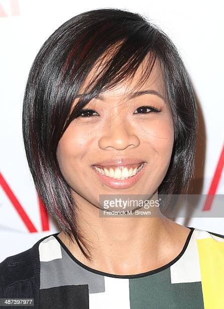 Director Erin Li attends the AFI Directing Workshop for Women Showcase at the Directors Guild Of America on April 29 2014 in Los Angeles California