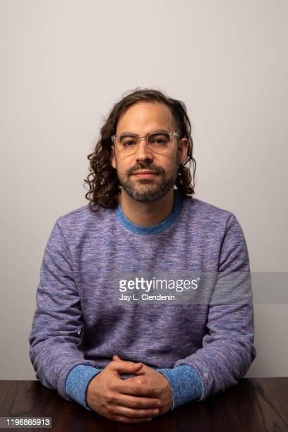 Director Esteban Arango from 'Blast Beat' is photographed in the LA Times Studio at the Sundance Film Festival on January 26 2020 in Park City Utah...