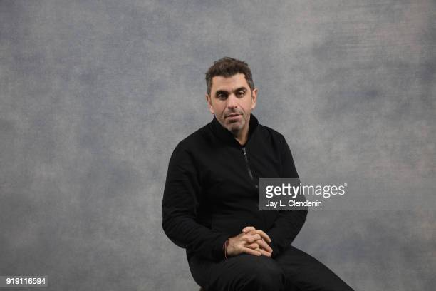 Director Eugene Jarecki from the film 'The King' is photographed for Los Angeles Times on January 22 2018 in the LA Times Studio at Chase Sapphire on...