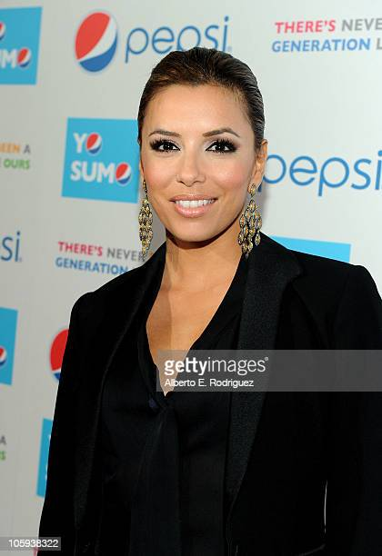 Director Eva Longoria Parker arrives at Latinos Living The American Dream premiere presented by Pepsi at Grauman's Chinese Theatre on October 21 2010...