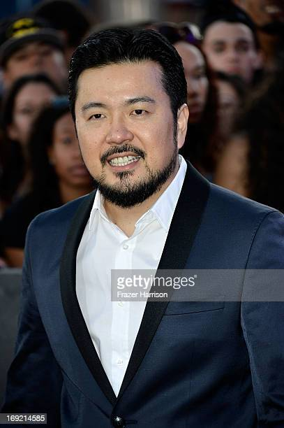 Director Exec Producer Justin Lin arrives at the Premiere Of Universal Pictures' 'Fast Furious 6' on May 21 2013 in Universal City California