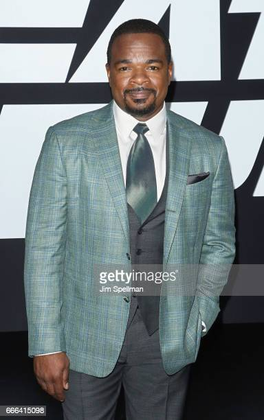 Director F Gary Gray attends The Fate Of The Furious New York premiere at Radio City Music Hall on April 8 2017 in New York City
