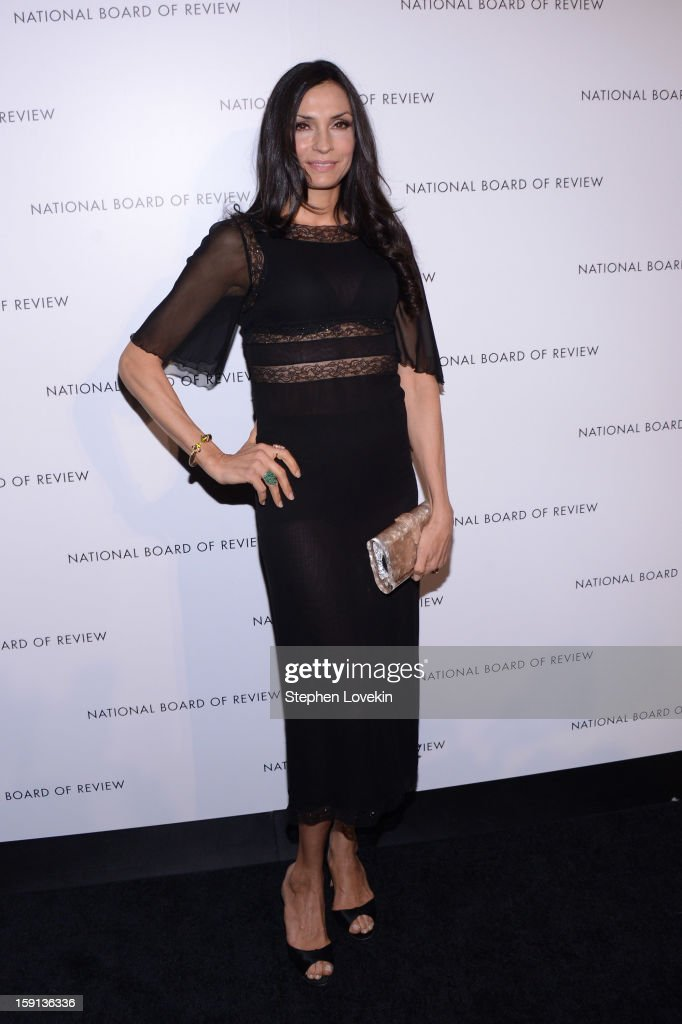Director Famke Janssen attends the 2013 National Board Of Review Awards Gala at Cipriani 42nd Street on January 8, 2013 in New York City.