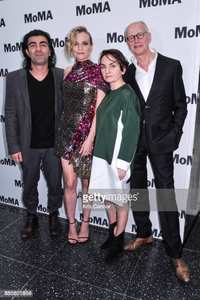 Director Fatih Akin Diane Kruger Nurhan SekerciPorst and Herman Weigel attend the MoMA's Contenders Screening of 'In The Fade' at MOMA on December 4...