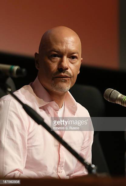 Director Fedor Bondarchuk speaks at the 'Stalingrad 3D' Press Conference during the 8th Rome Film Festival at the Auditorium Parco Della Musica on...