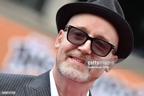 Director Fergal Reilly arrives at the premiere of Sony Pictures' 'The Angry Birds Movie' at Regency Village Theatre on May 7 2016 in Westwood...