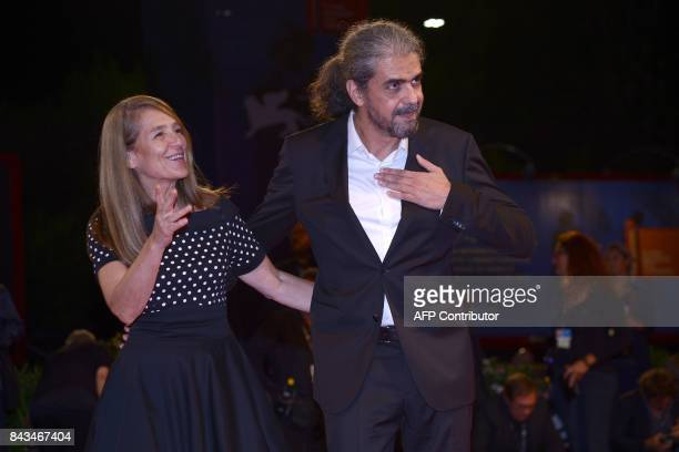 Director Fernando Leon de Aranoa attends the premiere of the movie 'Loving Pablo' presented out of competition at the 74th Venice Film Festival on...