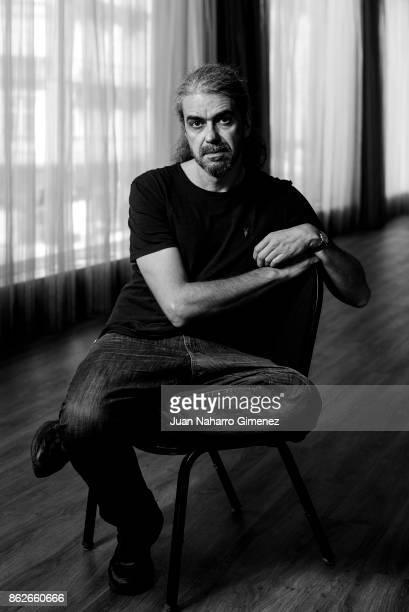 Director Fernando Leon de Aranoa poses during a portrait session during the 20th Malaga Film Festival on March 24 2017 in Malaga Spain