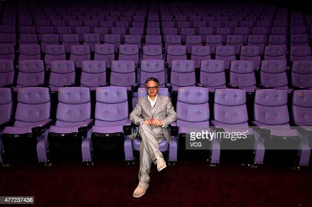 Director Fernando Muraca attends 'Land Of Saints' premiere during the 18th Shanghai International Film Festival on June 15 2015 in Shanghai China