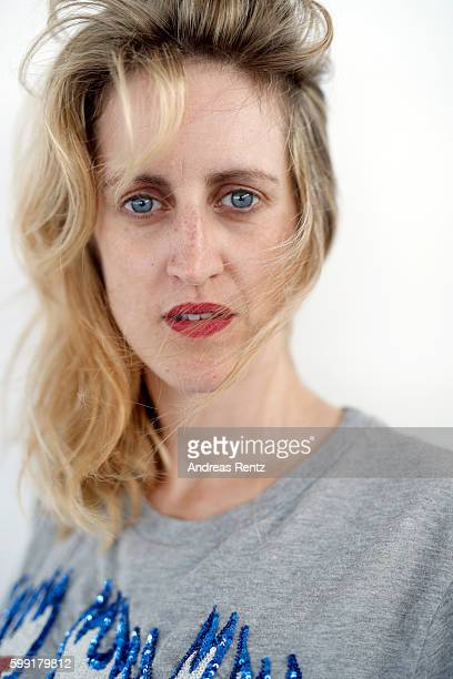 Director Fien Troch of film 'Home' poses for portrait during the 73rd Venice Film Festival on September 4 2016 in Venice Italy