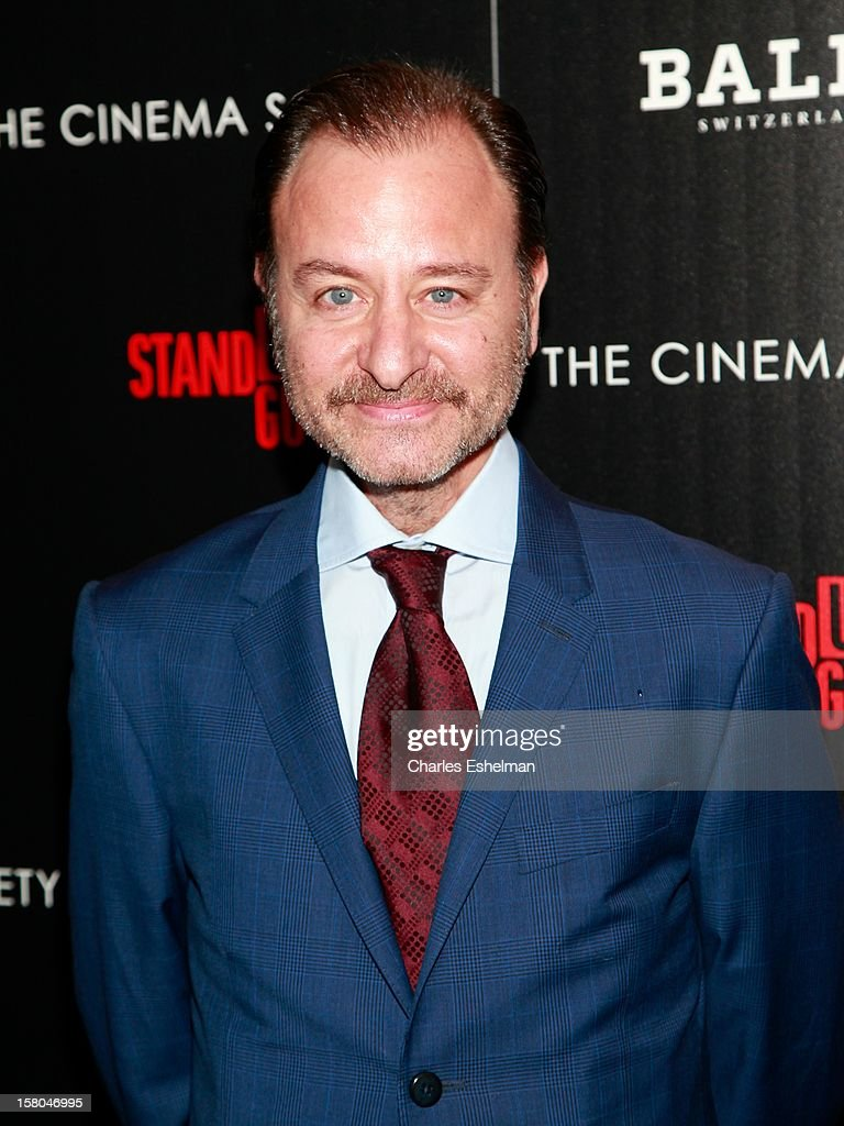 Director Fisher Stevens attends The Cinema Society With Chrysler & Bally Host The Premiere Of 'Stand Up Guys' at The Museum of Modern Art on December 9, 2012 in New York City.