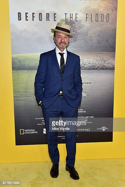 Director Fisher Stevens attends the screening of National Geographic Channel's Before The Flood at Bing Theater At LACMA on October 24 2016 in Los...