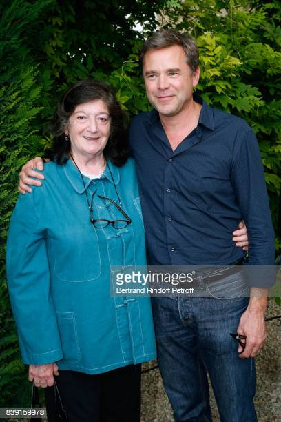 Director Florence Quentin and actor Guillaume de Tonquedec attend the Photocall of the movie 'Bonne pomme' during the 10th Angouleme FrenchSpeaking...