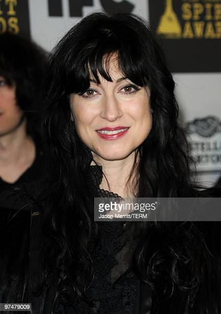 Director Floria Sigismondi arrives at the 25th Film Independent's Spirit Awards held at Nokia Event Deck at LA Live on March 5 2010 in Los Angeles...