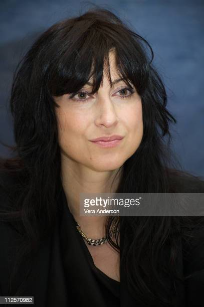 Director Floria Sigismondi at The Runaways press conference at the Luxe Hotel on March 11 2010 in Los Angeles California