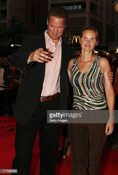 Director Florian Henckel von Donnersmarck and his wife Christiane Asschenfeldt arrives for the First Steps 2006 Awards at the Theater am Potsdamer...